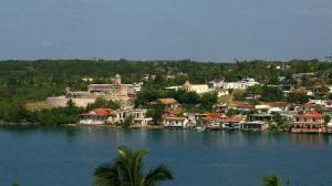 En maqueta, comunidad marinera del Castillo de Jagua